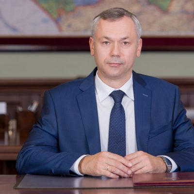 Travnikov Andrey Aleksandrovich   Governor of the Novosibirsk Region